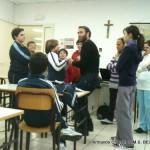 Armando Chartier e gli alunni della S.M.S. Belvedere...