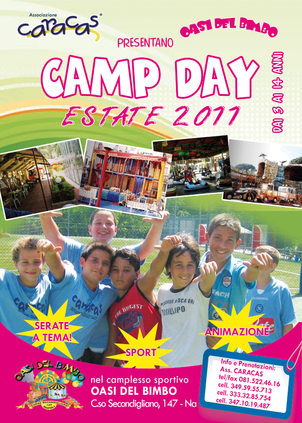 caracas estate camp day